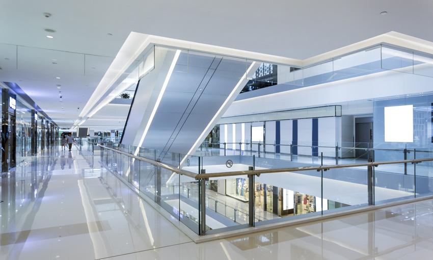Imec aménagement centre commercial